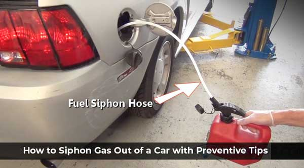 How to Siphon Gas Out of a Car