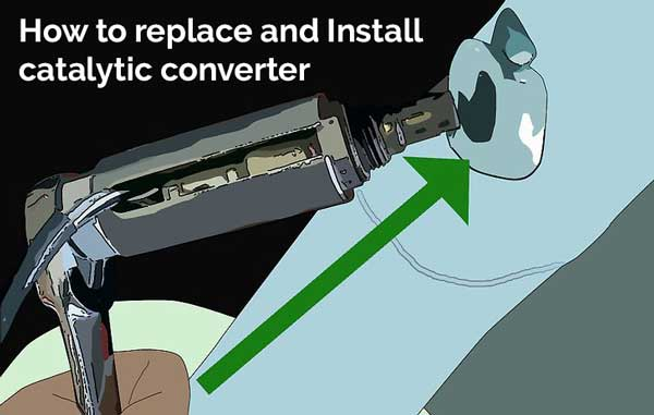 how to replace catalytic converter